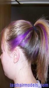 streaked ponytail6