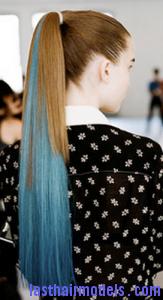 streaked ponytail7