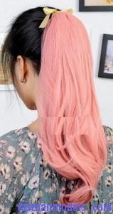 streaked ponytail8