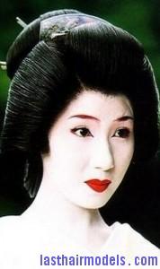 geisha updo