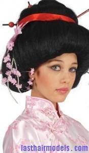 geisha updo5