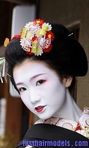 geisha updo7