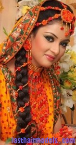 indian flower braid