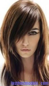 layered bangs