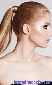 rusk ponytail