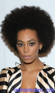 Super Solange Knowles With Mini Afro Last Hair Models Hair Styles Hairstyle Inspiration Daily Dogsangcom