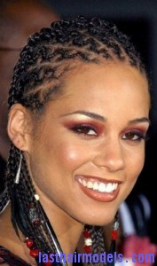 Superb Alicia Keys With Zig Zag Cornrows Last Hair Models Hair Styles Hairstyle Inspiration Daily Dogsangcom