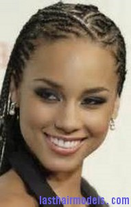 Magnificent Alicia Keys With Zig Zag Cornrows Last Hair Models Hair Styles Hairstyle Inspiration Daily Dogsangcom
