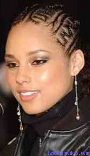 Astounding Alicia Keys With Zig Zag Cornrows Last Hair Models Hair Styles Hairstyle Inspiration Daily Dogsangcom