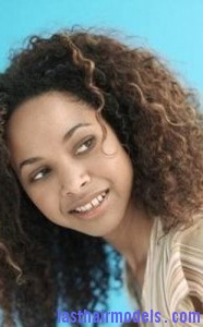 bohemian afro2 186x300 Bohemian Afro Hairstyle