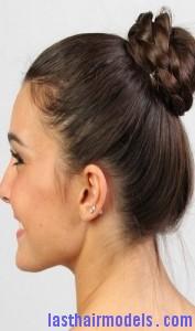 braided bun updo8