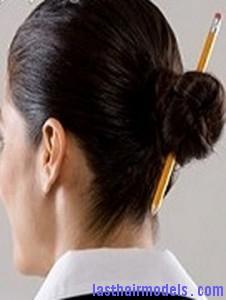 bun with pencil4