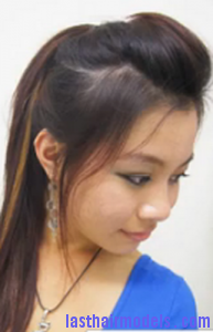 clipper cut ponytail3
