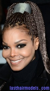 Swell Janet Jackson With Box Braids Last Hair Models Hair Styles Hairstyles For Men Maxibearus