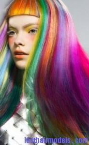rainbow hairtyle4