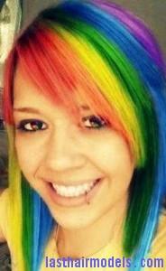 rainbow hairtyle6