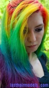 rainbow hairtyle7