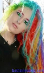 rainbow hairtyle8