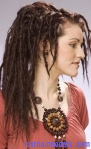 Hairstyle With Temporary Dreads Last Hair Models Hair Styles