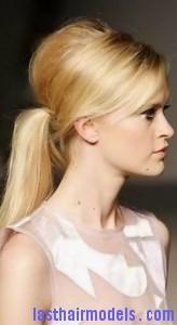 beehive ponytail2
