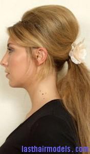 beehive ponytail4