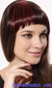fake fringe bang