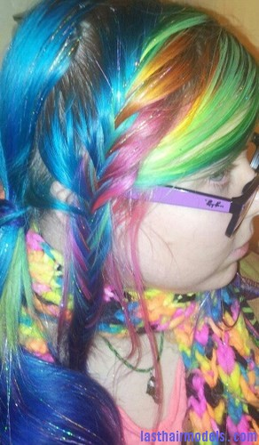 Rainbow French Braid5 Last Hair Models Hair Styles