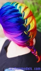 rainbow french braid6