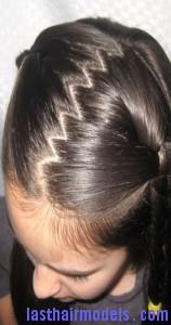 traditional zig zag part last hair models hair styles