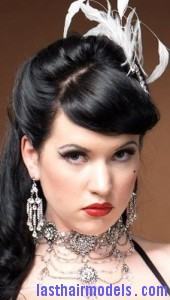 burlesque hairstyle