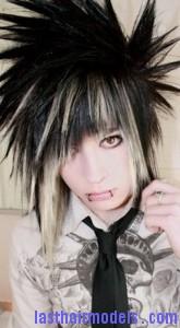 spiky emo hair
