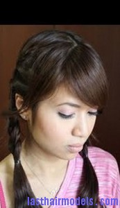 pigtail french braid