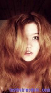 poofy hair