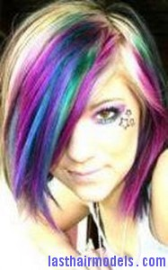 funky hair colors8