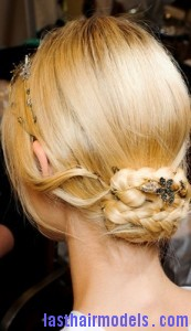 low braided chignon2