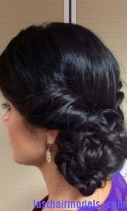 low braided chignon4