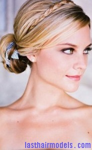 low braided chignon5