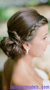 side braided chignon3