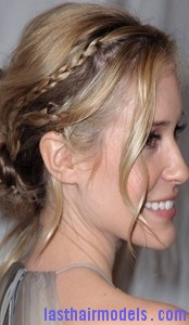 side braided chignon5
