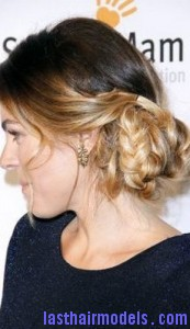 side braided chignon6