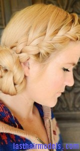 side braided chignon7