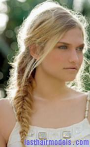 faux fishtail braid