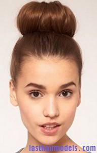 large hair bun