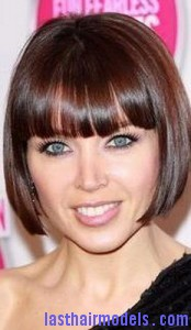 Brilliant Dannii Minogue39S Pageboy Hairstyle Last Hair Models Hair Short Hairstyles For Black Women Fulllsitofus