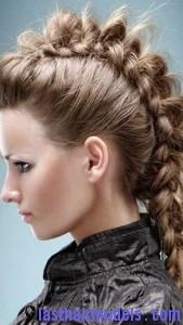 faux-hawk ponytail4