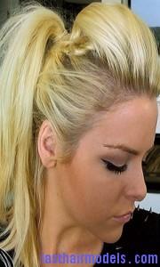 faux-hawk ponytail7