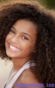 African descent child