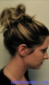 messy hair bun7