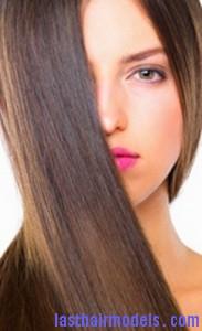 rebonded hair