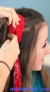 bandana curls5